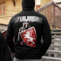 "mikina ""Defend Bohemia"""
