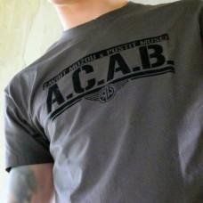 """A.C.A.B."" semiš - šedá"