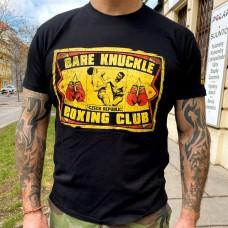 "tričko ""BARE KNUCKLE"" - holé pěsti"
